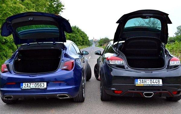 Srovnání Opelu Astra OPC a Renaultu Mégane R.S.