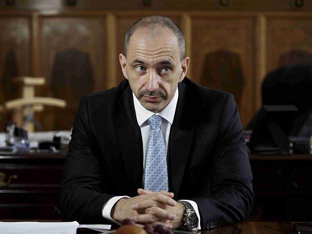Úřadující předseda ODS Martin Kuba