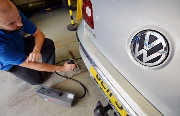 Emisní skandál Volkswagenu