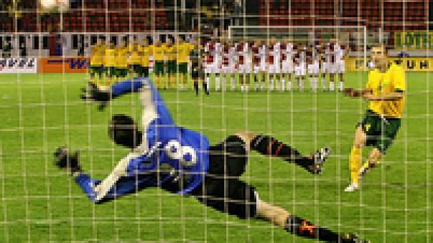 Martin Vaniak penalty zvládl.