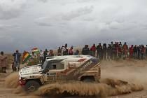 Tomáš Ouředníček na Rallye Dakar.