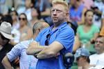 Legenda Boris Becker sleduje na Australian Open svého svěřence Novaka Djokoviče.