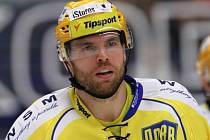 Zlínský hokejový obránce Tomáš Žižka.