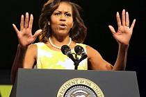 Americká první dáma Michelle Obamová.