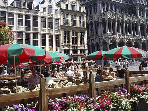 Brusel, Velké náměstí. Ilustrační foto