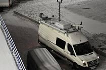 Policisté z krajské policejní pořádkové jednotky nacvičovali na fotbalovém stadionu v plzeňských Štruncových sadech zásah při nepokojích fanoušků na fotbalovém stadionu.