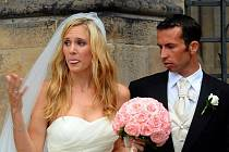Tenista Radek Štěpánek a bývalá tenistka Nicole Vaidišová vstoupili do svazku manželského 17. července v katedrále sv.Víta v Praze.