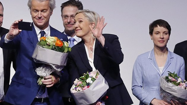 Le Penová a Wilders
