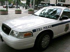 Vůz amerického FBI. Ilustrační foto.