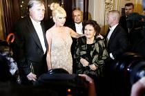 Ivana Trumpová se svou matkou.