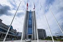 Sídlo ruské plynárenské společnosti Gazprom v Moskvě