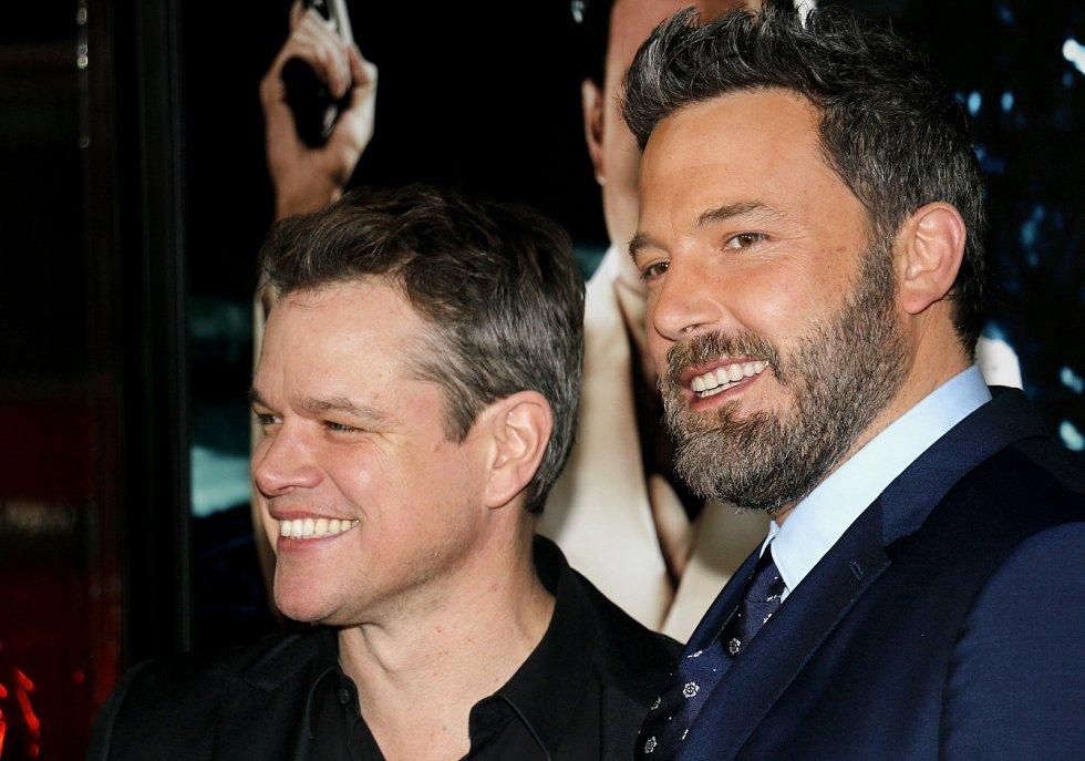 Matt Damon a Ben Affleck.
