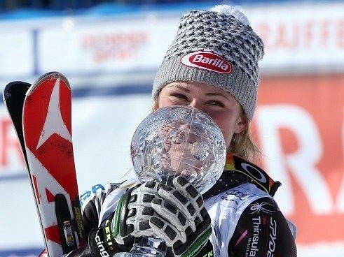 Mikaela Shiffrinová - královna slalomářek.