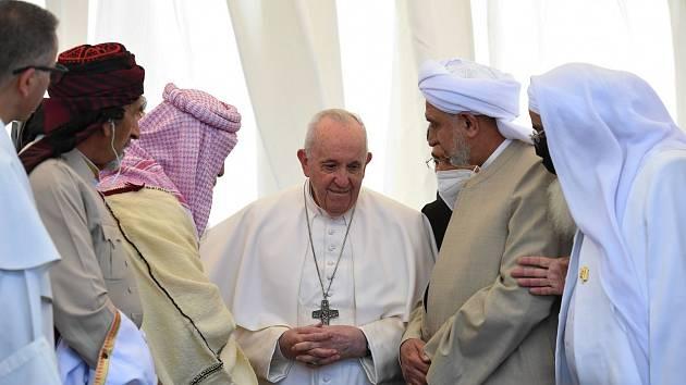 Papež František na návštěvě Iráku