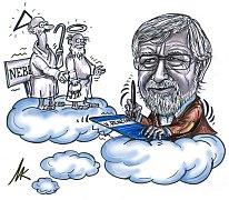 Kresba Milana Kounovského.