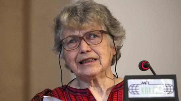 Ruská disidentka Natalja Gorbaněvská.