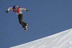 Snowboardistka Anna Gasserová se stala první olympijskou vítězkou v Big Air.