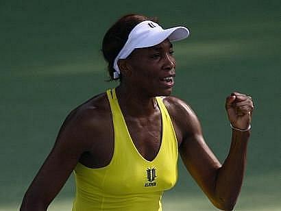 Několikanásobná wimbledonská šampionka Venus Williamsová.