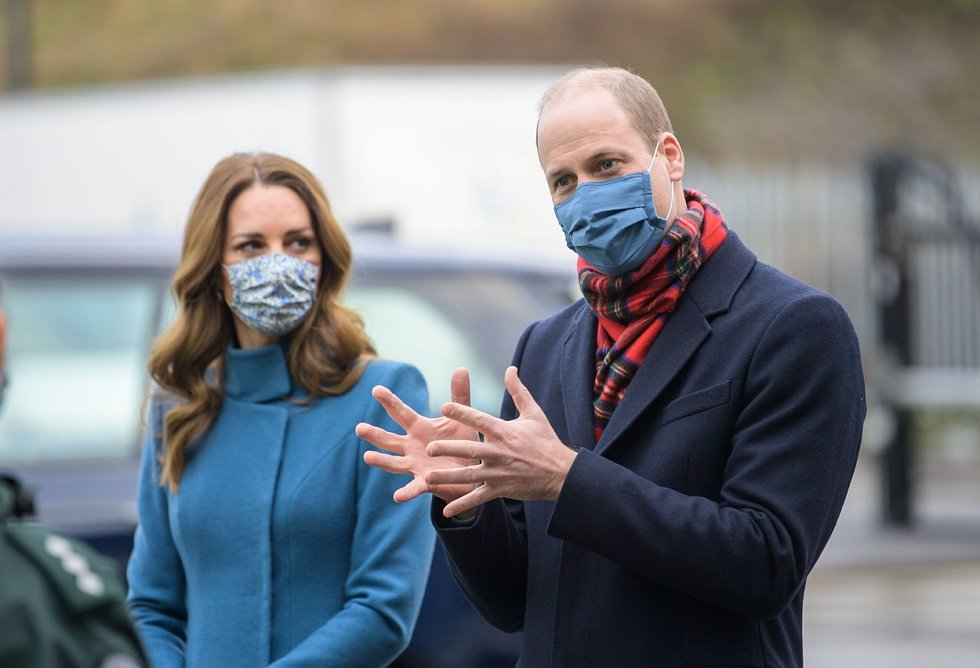 William a Kate v Edinburgu