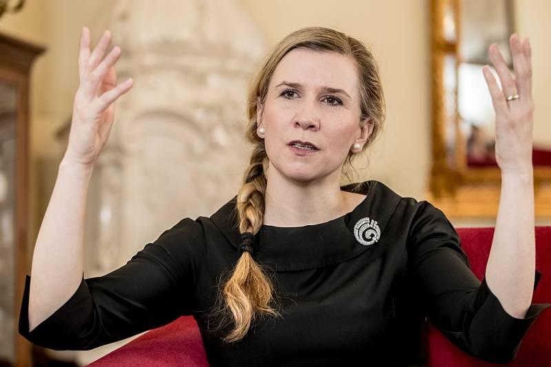 Kateřina Valachová poskytla Deníku rozhovor.