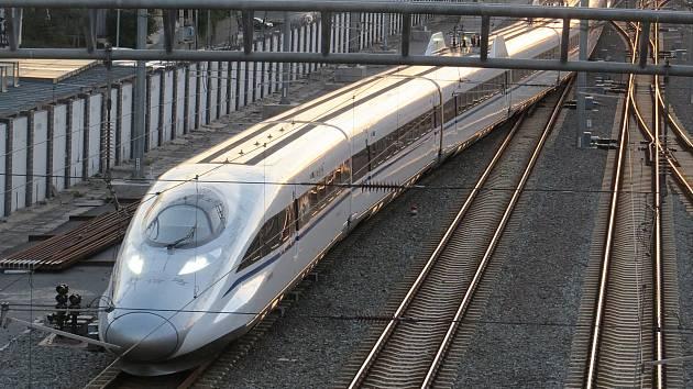 Vysokorychlostní vlak v Číně