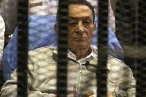 Bývalý egyptský prezident Husní Mubarak