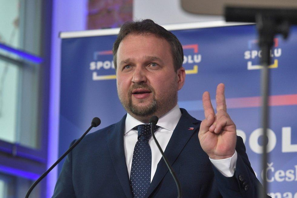 Předseda KDU-ČSL Marian Jurečka