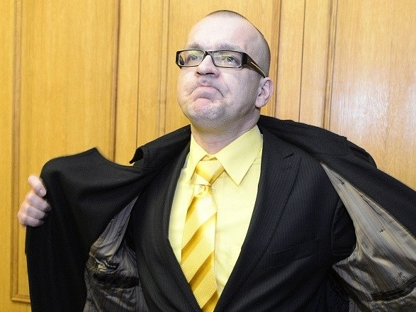 Jaroslav Škárka u Obvodního soudu v Praze