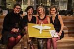 Autorky vítězného projektu Největší přání Nina Rutová, Ester Stará, Veronika Endrštová a Petra Skalická (zleva)