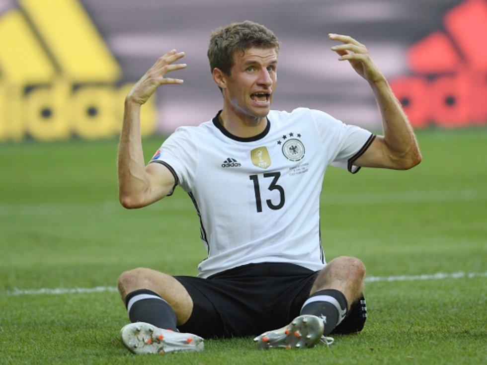 Thomas Müller z Německa.