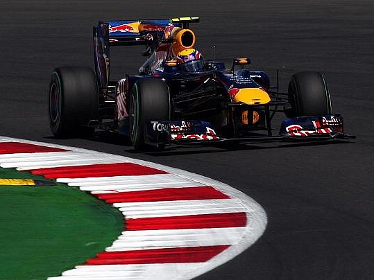 Marek Webber opanoval Britskou GP formule 1.
