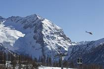 Svahy v italském Sestriere nedaleko Turína, kde se v roce 2006 konaly zimní olympijské hry.