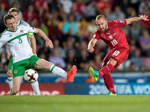 Jiří Skalák při úvodním kvalifikačním utkání se Severním Irskem (0:0).