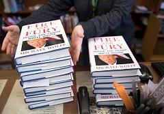 Kontroverzní kniha novináře Michaela Wolffa Oheň a hněv: Uvnitř Trumpova Bílého domu (Fire and Fury: Inside the Trump White House)