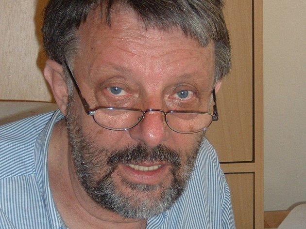 Politolog Zdeněk Zbořil.