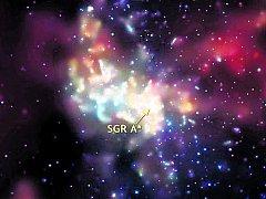 V naší galaxii se v souhvězdí Střelce nachází potenciální černá díra Sagittarius A*. Ilustrační foto.