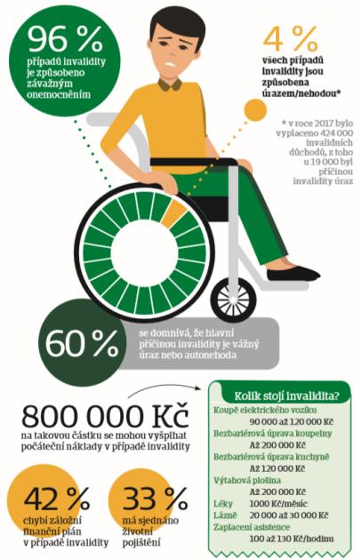 Infografika - Invalidita