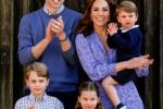 Princ William, jeho žena Kate a děti zatleskali zdravotníkům během koronavirové pandemie