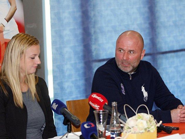Rozchod: Petra Kvitová a nyní již bývalý kouč David Kotyza