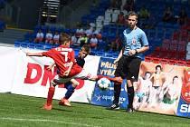 Zápas fotbalového turnaje McDonald's Cup. Ilustrační snímek
