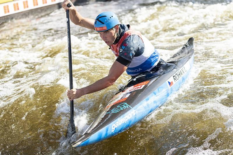ME ve vodním slalomu - Troja 2020 - Lukáš Rohan