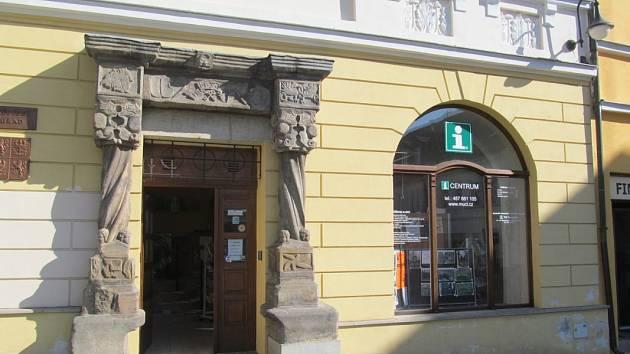 Městské informační centrum v České Lípě.