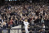 Mariano Rivera se rozloučil s Yankees Stadium.