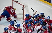 Zápas Mistrovství světa v ledním hokeji Česko - Norsko