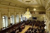 Mimořádná schůze Poslanecké sněmovny 23. června 2020 v Praze