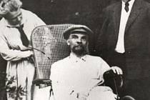 Poslední Leninova fotografie z roku 1922
