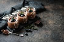 Veganská čokoldová pěna
