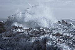 Rozbouřené moře, ilustrační foto