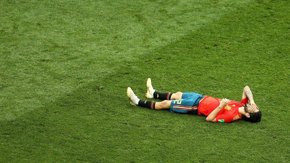 Španělský smutek.