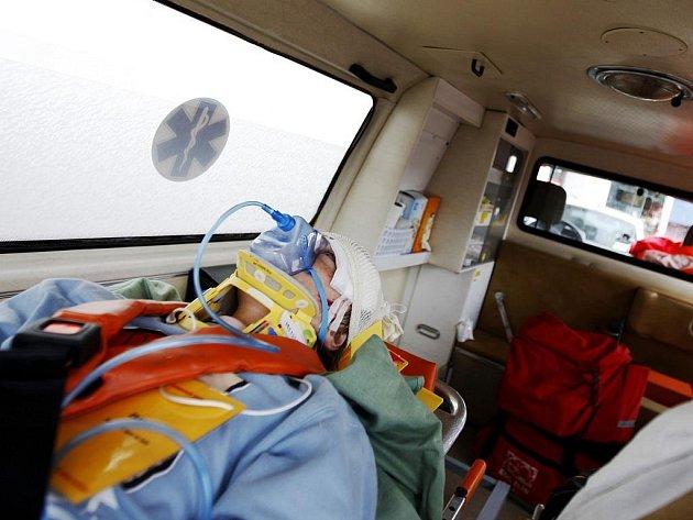Celkem deset lidí se ve středu po ránu zranilo při nehodě autobusu městské hromadné dopravy a osobního vozu. Nehoda se stala na ulici Petřkovické v Ostravě.